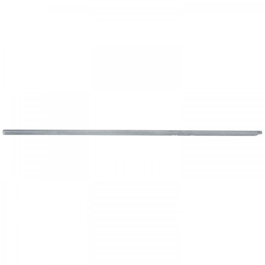 Hranatá rozvorová tyč, 1000 x 8 x 8 mm, ocel pozink