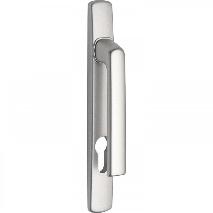 Balkonová klika HARMONY vnější-snížená, PZ 92 mm, stříbrný elox - balkónové