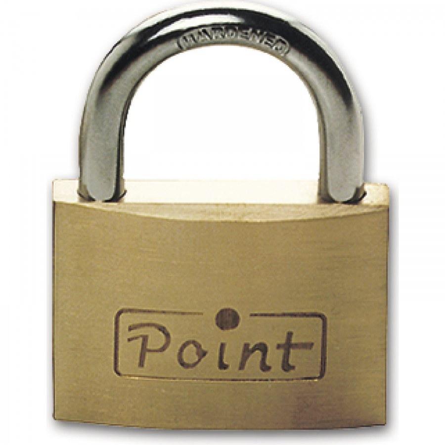 Visací zámek 500 Point, různé klíče, šířka 20 mm - Vis. zámky do 100.- kč