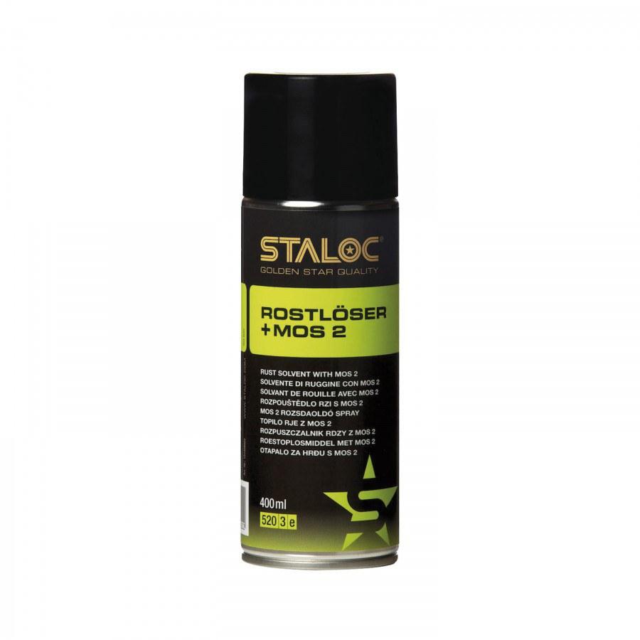 STALOC rozpouštědlo rzi SQ-620 s MoS2, 400 ml - Speciální aerosoly