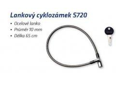 Lankový cyklozámek S720 MOTO A CYKLO - Zámky na kolo - Do 100,- kč