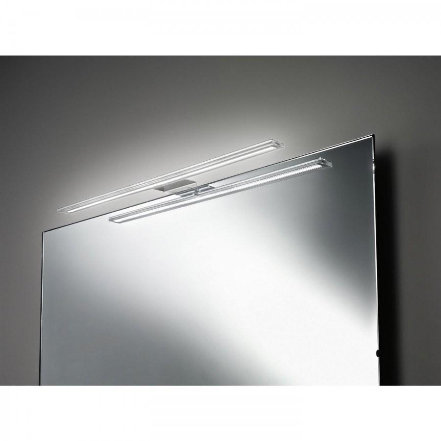 Zrcadlové svítidlo SW Mirror, 300 mm, 12 V/DC, 8W, 4000 K neutrální bílá, hliník