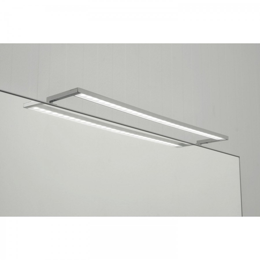 Zrcadlové svítidlo Spider, 300 mm, 12 V/DC, 3,5W, 4000 K neutrální bílá, hliník