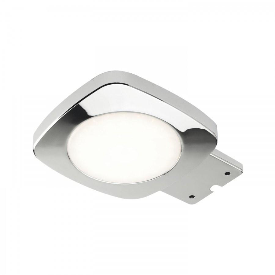 Světlo Cloud 4W, plošné LED, 12V, teplá bílá, chrom, vč. svorek