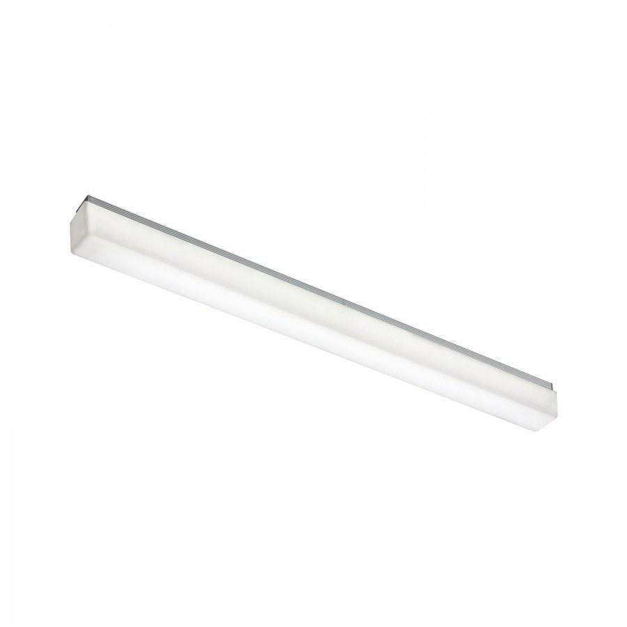 Nástavné svítidlo Stratos 20W, dך×v 1190×38×56 mm IP44 tep. bílá, hliník, 230 V