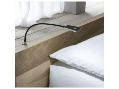 Svítidlo na čelo postele Area Light se stmívací f. černé, 1,4 W 12 V/DC Elektro - Světelný desing a technika - LED svítidla - Ložnice