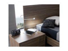 Svítidlo na čelo postele Miniflat Touch stmívací, barva hliník 1,8 W 12 V/DC Elektro - Světelný desing a technika - LED svítidla - Ložnice