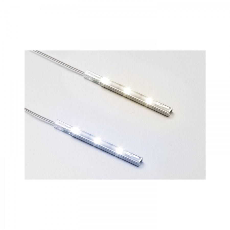 LED-lišta Strip LED Plus, 0,6 Watt, studená bílá, d 84 mm