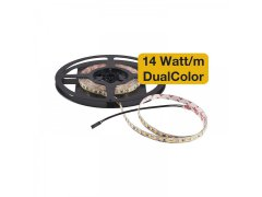 LED-pásek Tunable DualColor 14W/m 3000K / 4000K IP00 role 5m Elektro - Světelný desing a technika - LED svítidla - LED pásky Tunable DualColor 12 V/DC