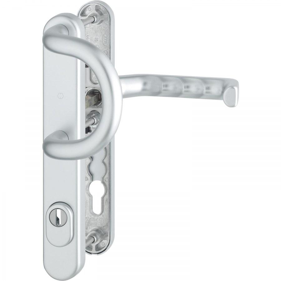 MODEL LIVERPOOL/92mm klika+madlo - Bezpečnostní Kování Hoppe úzký štít 36mm