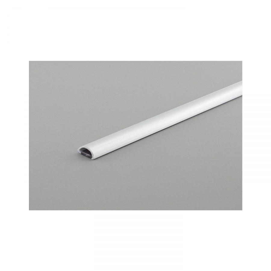 Kabelová lišta Mini, L: 1200 mm, š: 10 mm, v: 5 mm, plast bílý - Instalační příslušenství, Příslušenství ke svítidlům