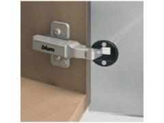 Blum 79A4105.T závěs pro skleněné dveře CLIP-TOP +20° ŽELEZÁŘSTVÍ - Nábytkové kování,nábytkové panty - Nábytkové panty - Miskové panty BLUM