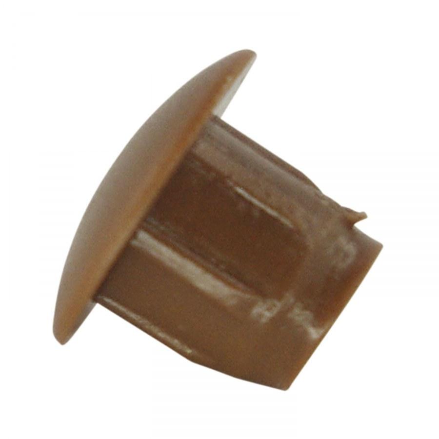 Tlumící narážecí čočka TD1, ø9, plast hnědý - Tlumící prvky a těsnící profily