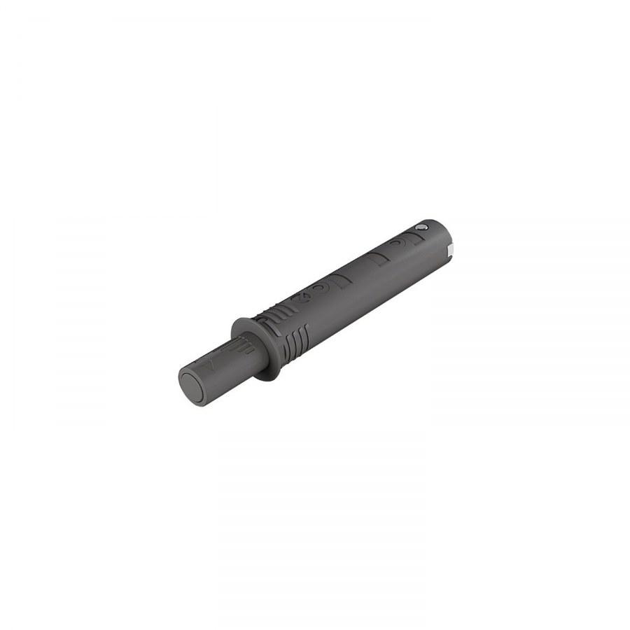 K-Push Tech s dorazem, zdvih 14 mm, antracit - Tlumící prvky a těsnící profily