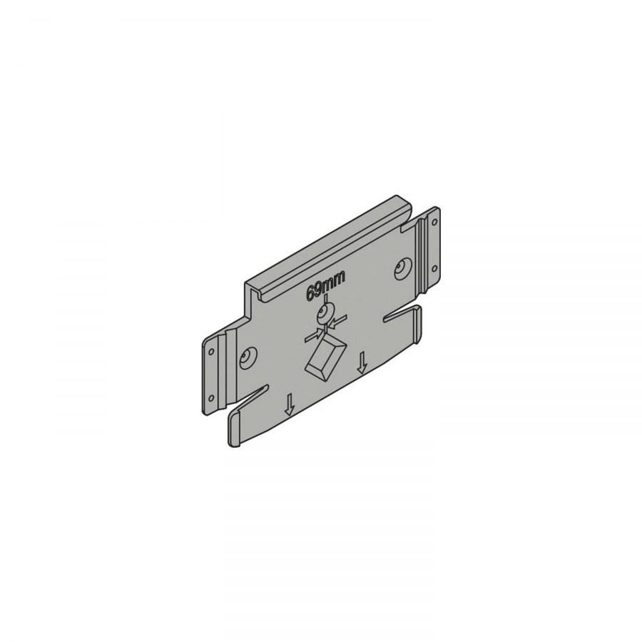 Blum-Z10C5005 SERVO-DRIVE flex přídavný montážní adaptér pro myčku - Servo Drive Flex jednotlivé použití