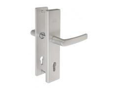 Hliníkové bezpečnostní kování klika - klika BK501/72 F1 DVEŘE - Dveřní kování, dveřní příslušenství - Bezpečnostní kování - Bezpečnostní kování Fab