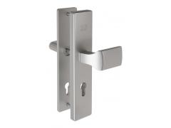 Hliníkové bezpečnostní kování madlo - klika BK505 DVEŘE - Dveřní kování, dveřní příslušenství - Bezpečnostní kování - Bezpečnostní kování Fab
