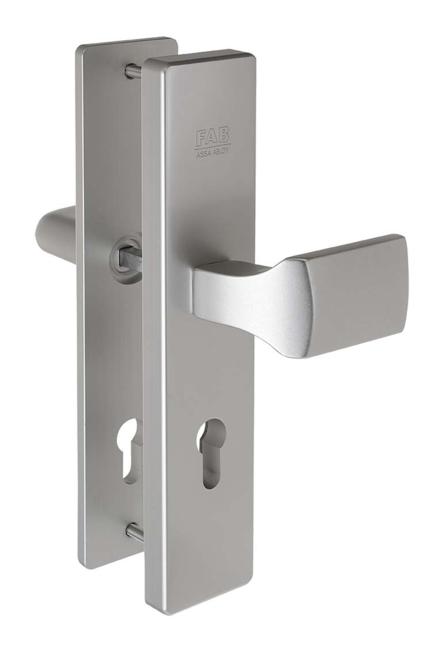 Hliníkové bezpečnostní kování madlo - klika BK505 - Bezpečnostní kování Fab