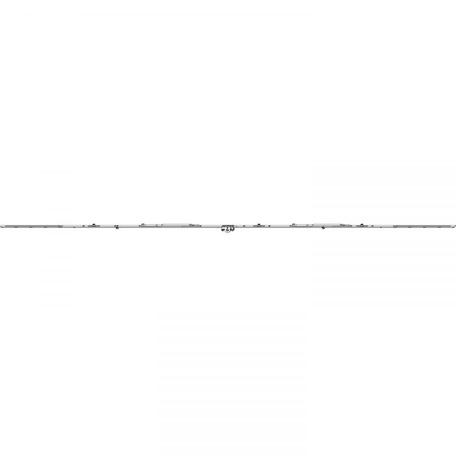 MACO MM hranová závora variabilní s 2 nůžkami, 3 IS, DM 15 mm, vel.2200 (206271) - okenní