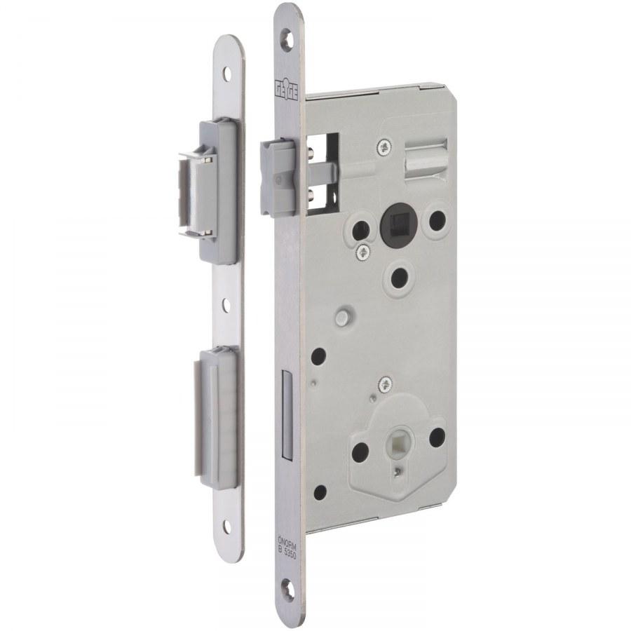 Magnetický zámek Cludo WC DM 50, čtyřhran 8,5 s protiplechem - Magnetické zadlabávací zámky