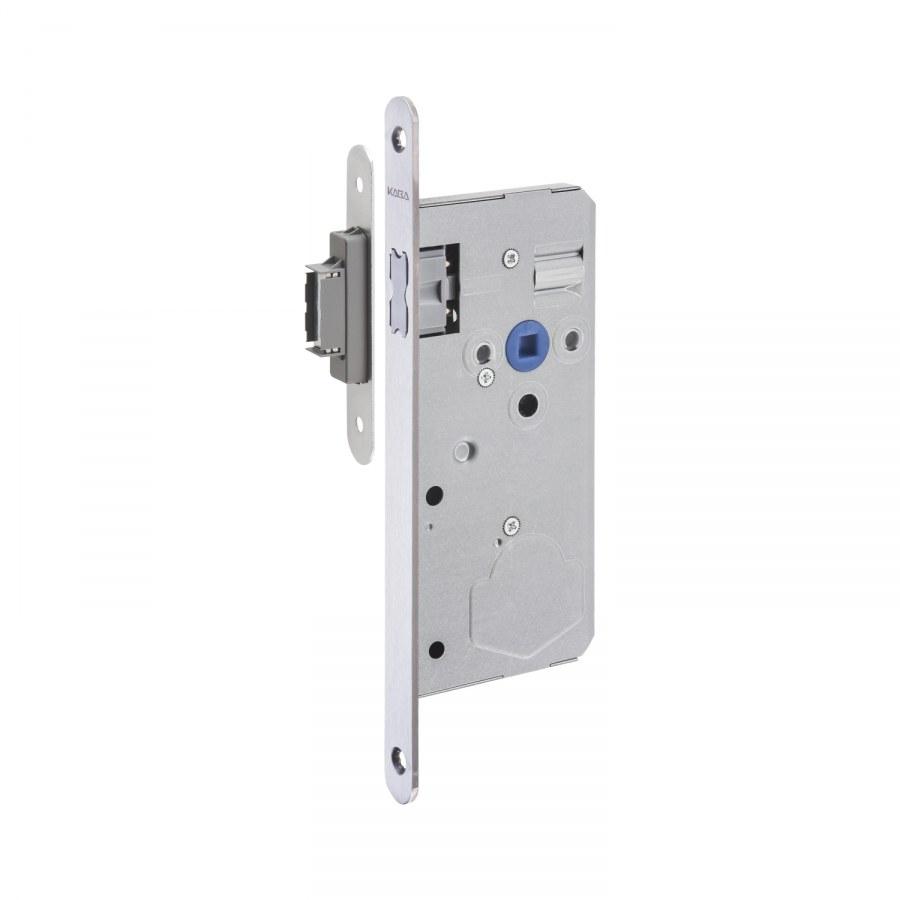 Magnetický zámek Solo, malý dvojitě stavitelný protiplech, štulp nerez - Magnetické zadlabávací zámky