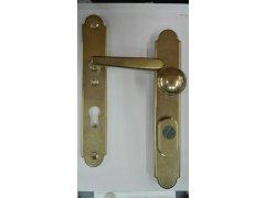 Bezpečnostní kování Individual Klika knoflík rozteč 90mm DVEŘE - Samozamykací zámky - Kování pro samozamykací zámky