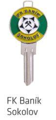 Klíč Baník Sokolov - Cylindrické klíče, 3D klíče