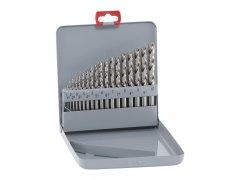 Kazeta vrtáků MAYKESTAG DIN 338 HSS-Eco 1,0-10,0 mm, 19dílná DÍLNA - Nářadí, ruční nářadí, elektrické pomůcky, ochranné pomůcky - Vrtání - Sady spirálových vrtáků na kov