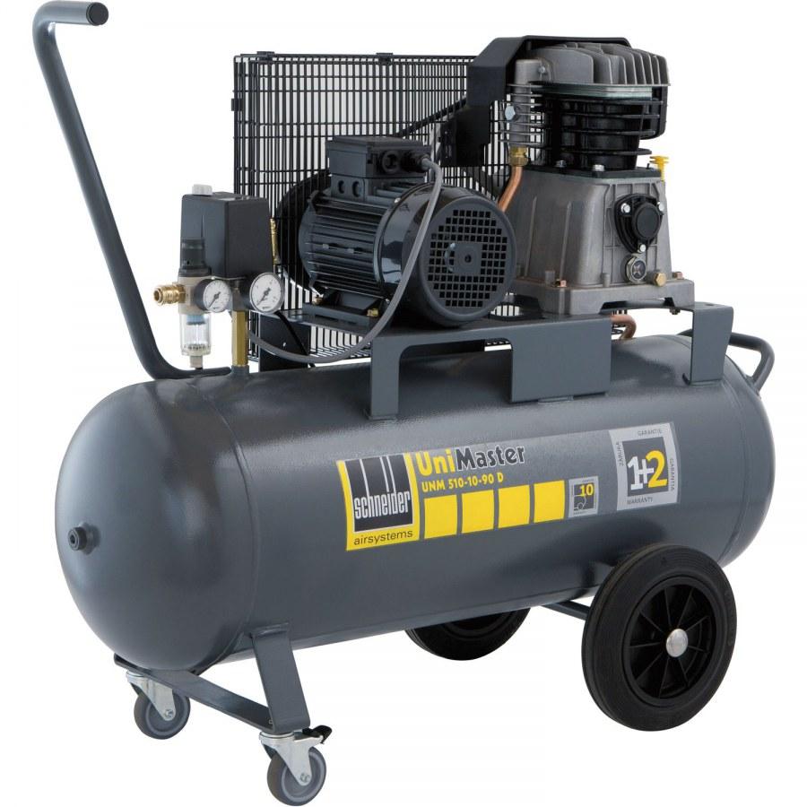 SCHNEIDER niverzální kompresor UniMaster UNM 510-10-90 D - Pístové kompresory