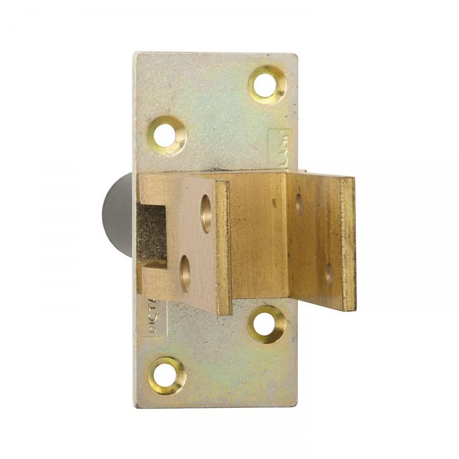 Kování kyvných dv., aretace 90°, TS 19 - 24 mm, leštěná mosaz - Dveřní závěsy pro kyvné dveře
