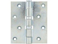 Závěs pro bezfalcové dveře, 101,6 x 76 x 3,0 mm, ocel pozinkovaná DVEŘE - Panty, Dveřní závěsy - Dveřní závěsy k našroubování