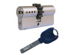 Bezpečnostní vložka RB - Lock Locxis 5 klíčů kolečko 10 zubů DVEŘE - Cylindrické vložky - Cylindrické vložky oboustranné - Cyl. vložky s ozubeným kolečkem