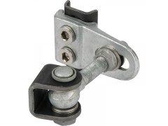 Bránový závěs GBMU4, úhel otevření 180 °, deska 40x42 mm, pozinkovaný DVEŘE - Panty, Dveřní závěsy - Závěsy pro ocelové profily