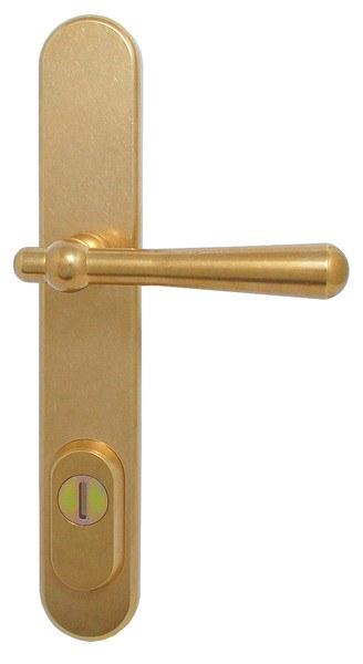 CASUAL bezpečnostní kování K1 surová mosaz - Bezpečnostní kování Bernat