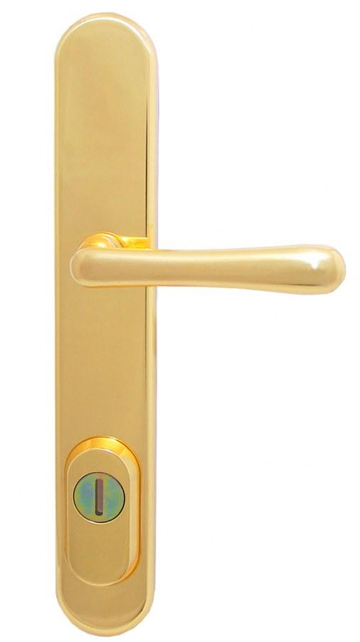 Element bezpečnostní kování K1 surová mosaz - Bezpečnostní kování Bernat