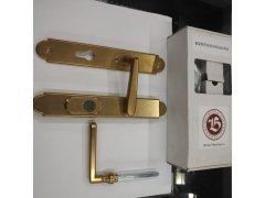 Kování Bernat Individual K1 Klika/klika surová mosaz DVEŘE - Dveřní kování, dveřní příslušenství - Bezpečnostní kování - Bezpečnostní kování Bernat