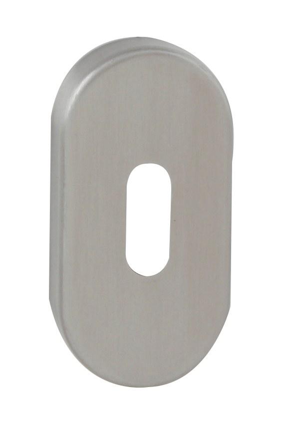 FT - rozeta ovál - BB - 60x30 mm - broušená nerez