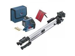 BOSCH multifunkční čárový laser GLL 3-80 P + BS 150 IP54 DÍLNA - Nářadí, ruční nářadí, elektrické pomůcky, ochranné pomůcky - Laserové měřící přístroje
