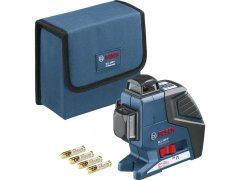 BOSCH Multifunkční čarový laser GLL 3-80 P + BT 150 + sada nářadí Gedore L-Box DÍLNA - Nářadí, ruční nářadí, elektrické pomůcky, ochranné pomůcky - Laserové měřící přístroje