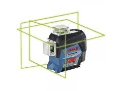 BOSCH čárový laser GLL 3-80 CG P + BM1 + L-Boxx DÍLNA - Nářadí, ruční nářadí, elektrické pomůcky, ochranné pomůcky - Laserové měřící přístroje