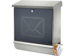 BURG poštovní schránka LUCENTA, nerez ŽELEZÁŘSTVÍ - Poštovní schránky, Schránky na klíče, Depozity - Poštovní schránky