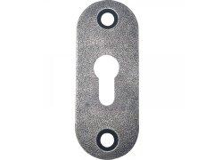 Klíčová rozeta PZ STUBAI oválná, 26 x 66 mm, Dveře - Dveřní kování, dveřní příslušenství - Dveřní rozety