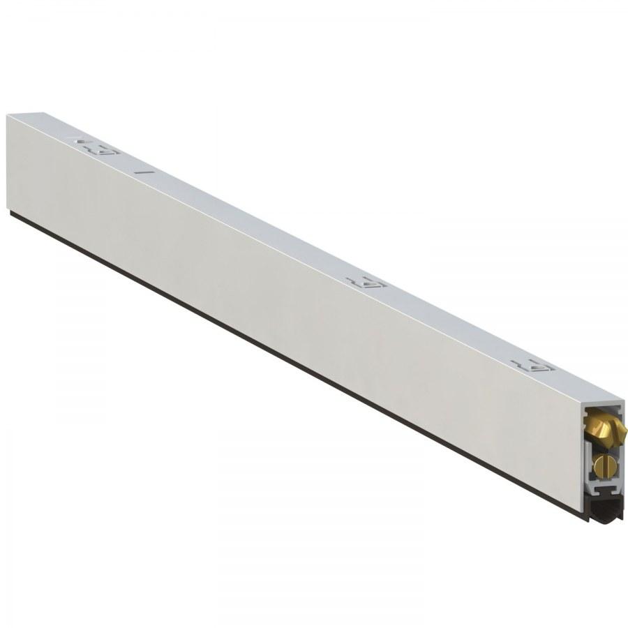 Dveřní padací práh T017 - 630 x 12,5 x 28,5mm - Dveřní těsnění, prahy, těs. kartáče