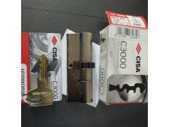 Bezpečnostní vložka CISA C3000 s 10-ti ozubeným kolečkem Dveře - Cylindrické vložky - Cylindrické vložky oboustranné - Cyl. vložky s ozubeným kolečkem