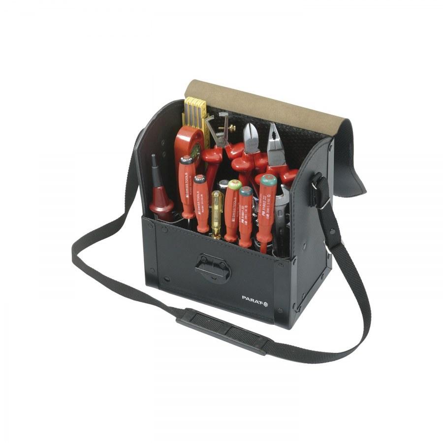 PARAT taška na nářadí Top Line dělená s popruhem 220 x 140 x 250 mm