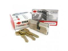 Bezpečnostní vložka CISA C3000 S DVEŘE - Cylindrické vložky - Cylindrické vložky oboustranné - Cyl. vložky do 1800,-