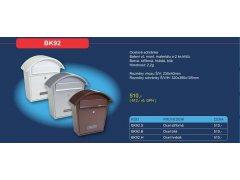 Poštovní schránka BK 92 ŽELEZÁŘSTVÍ - Poštovní schránky, Schránky na klíče, Depozity - Poštovní schránky