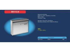 Poštovní schránka BK 113.N nerez ŽELEZÁŘSTVÍ - Poštovní schránky, Schránky na klíče, Depozity - Poštovní schránky