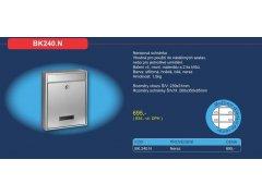 Poštovní schránka BK 240.N ŽELEZÁŘSTVÍ - Poštovní schránky, Schránky na klíče, Depozity - Poštovní schránky