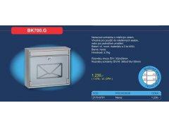 Poštovní schránka BK 700.G ŽELEZÁŘSTVÍ - Poštovní schránky, Schránky na klíče, Depozity - Poštovní schránky